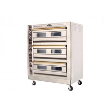 Restoquip Deck Oven - Electric - 3 Deck 6 Tray