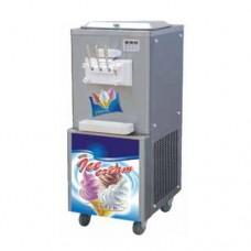 Soft Serve Ice Cream Machine - Floor Standing - 2 Flavour 1 Mix - 3 Lever